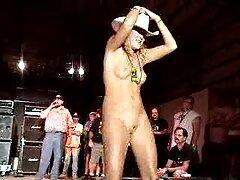 BBW سکسی در جوراب سفید فیلم سکسی انجمن لعنتی